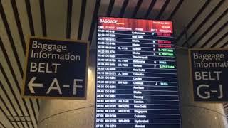 【マレーシアお役立ち情報】KLIA International到着2入国審査〜スーツケース引き取りまで[#004]