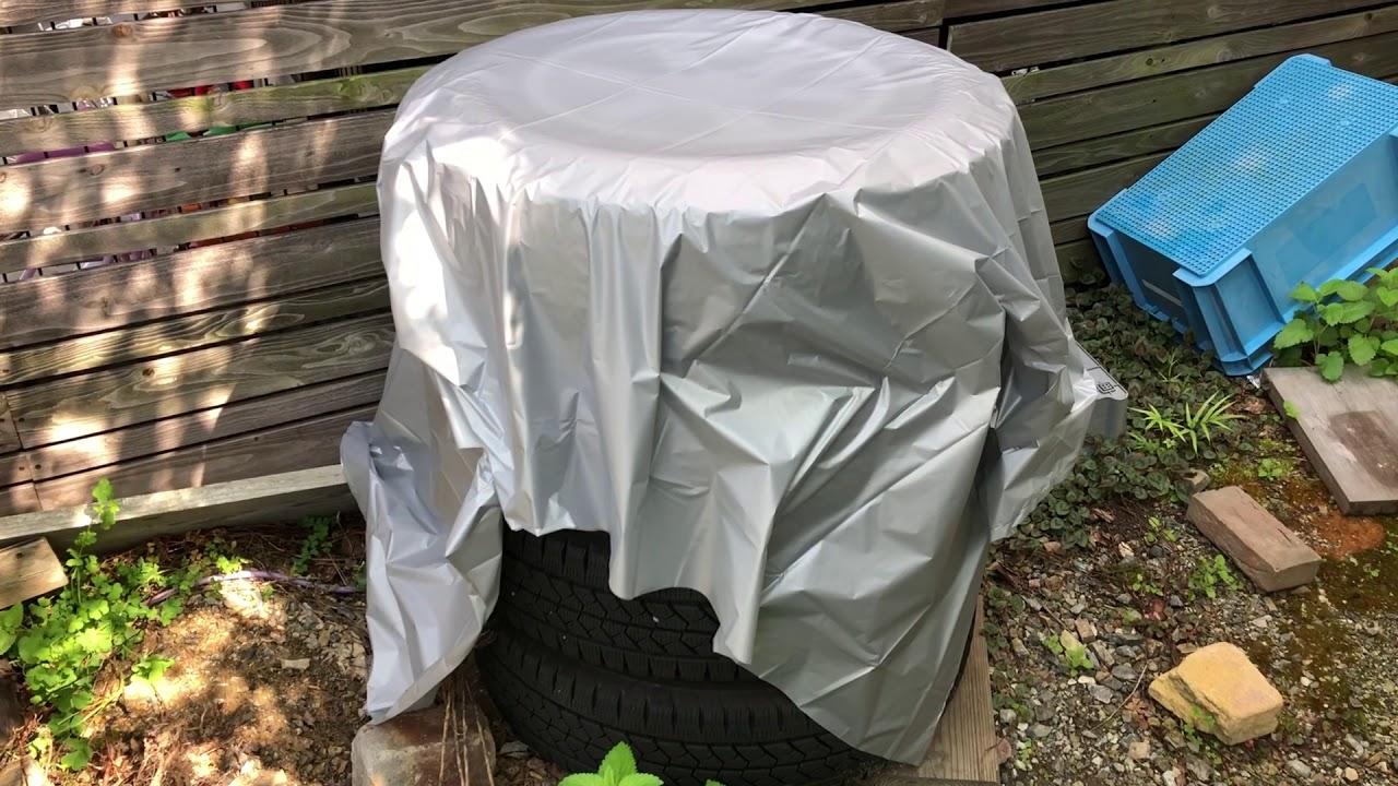 【生活の知恵】超手抜き! タイヤの保管方法