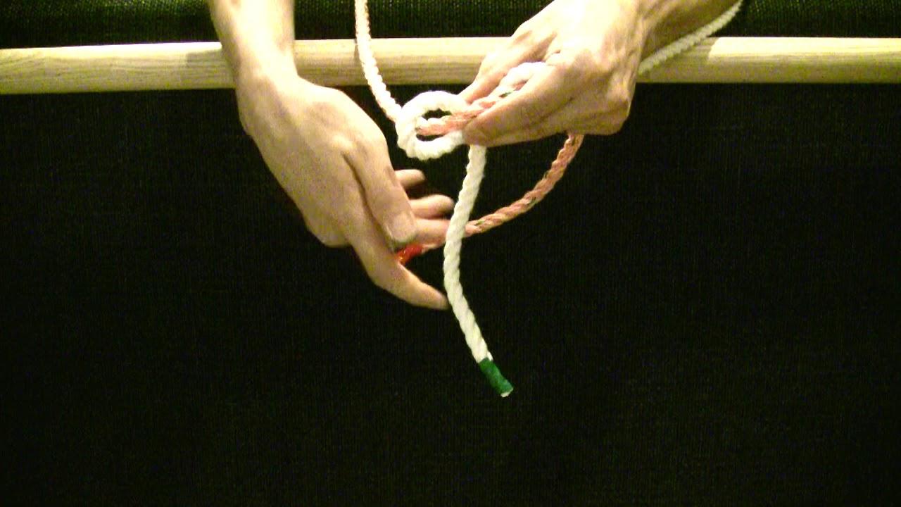 【生活の知恵】【ロープの結び方】【006】ダブルフィッシャーマンズノット 災害時に
